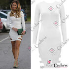 Womens Cut Out Fitted Bodycon Party Celebrity Towie Style Bandage Boutique Dress