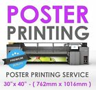 """30"""" x 40"""" - Full Colour Poster Printing Photo Enlargement Service 260gsm Satin"""