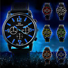 Mens Watches Quartz Stainless Steel Analog Sports Wrist Watch New