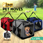 i.Pet Pet Soft Crate Portable Dog Cat Carrier Travel Cage Kennel Foldable Puppy