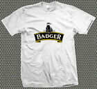 Men's Badger Brewery Printed T-Shirt - Beer Festival Real Ale CAMRA Pub