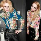 Special Women Long Sleeves Floral Slim Fit Casual Clothes Office Lady Blouse New