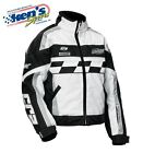 CASTLE X Women's White & Black CR2-12 Winter Snowmobile Jacket 72-897_