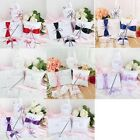 5pcs/Lot Guest Book & Pen Set & Ring Pillow &Flower Baskets & Garter Wedding Set