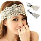 2014 Womens Girls Hair Accessories Lace Headband Retro Hair Band Wide Headwraps