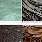 Flat 5mm Tube Weave Laces - Standard Colours - For Shoes, Boots, Trainers,