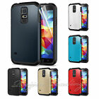 New Armor Heavy Duty Slim Case Cover For Samsung Galaxy S5 Free Screen Protector