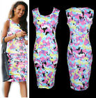 New GK Women Sexy Bodycon Party Sleeveless Pencil Cocktail Mini Clubwear Dresses