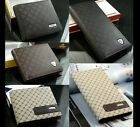 New Luxury High Quality Mens Leather Bifold Wallet Credit Card Holder Bifold