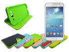 Leather Wallet Case Stand with Inner TPU Soft for Samsung Galaxy Mega 5.8 i9150