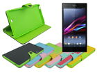 Leather Wallet Case Stand with Inner TPU Soft for Sony Xperia Z Ultra