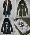 NWT Abercrombie & Fitch Women's All-Season Weather Warrior Parka Jacket Coat