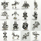 Tibetan Silver Animal Style Pendants Charms Beads CHARMS 10PCS Jewellery Fashion