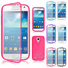 Flip Gel Silicone Crystal Clear TPU Case Cover For Samsung Galaxy S4 Mini i9190