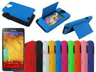 Hybrid Hard Case with Credit Card Slot Stand for Samsung Galaxy Note 3 III