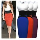 Prom Summer Party Sleeveless Bodycon Dress Sexy Tank Top Womens Dresses sz 6-18