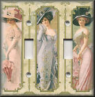 Light Switch Plate Cover - Victorian Women - Home Decor - Victorian Decor