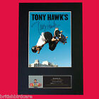 TONY HAWKS Signed Autograph Mounted Photo Reproduction Print A4 21x30cm