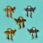 50 x Silver or Gold Plated Camel Charms Tags / Jewellery Making Findings  Carfts