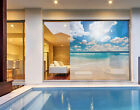 Window Mural Touch of Paradise  Island Holiday Sea Beach Sky