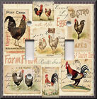 Switch Plates And Outlets - Kitchen Rooster Collection - Home Decor - Kitchen