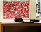 Window Mural no.DS131 Dot Design In A Ring  Geometry Ornaments Pattern Abstract