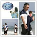 Baby Newborn Ring Sling Breathable Water Mesh Summer Light Beach Carrier W