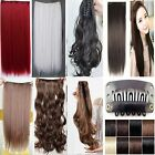 """Real quality 24"""" half & 22"""" whole full head clip in hair extensions 1st class uk"""