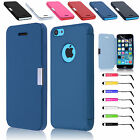 Ultra Slim Magnetic Flip Leather Case Cover for iPhone 5C Free Screen Protector