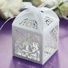 New Love Pigeon Heart Candy Boxes With Ribbons Wedding Favor Party Gift Boxes