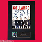 COLLABRO Quality Autograph Mounted Signed Photo Repro Print A4 511