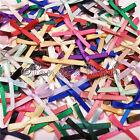 3mm Satin Ribbon Bows 30pk 50pk or 100pk 19 Colours