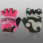 Womens Half Finger Sports Gloves Motorcycle Bicycle Gym Exercise Breathe Mittens