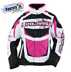 POLARIS Women's Pink FXR® RACE CREW Replica Winter Snowmobile Jacket 2864130_