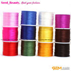 Pretty Crystal String 60 Yards1mm Elastic Stretch Beading Thread Spool Cord Roll