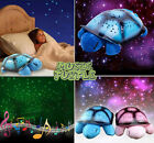 New Cute LED Turtle Night Light Star Sky Projector Lamp Baby Kids Bedroom Toy