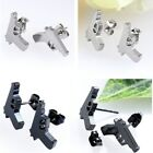 2x Punk Stainless Steel 20g Pistol Gun Ear Studs Charms Earring Womens Mens Rock