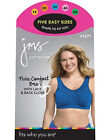 Just My Size Pure Comfort® Wirefree Bra with Lace Trim Style 1271