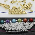 100/500 Pcs Loose Cube Tibetan Silver Spacer Beads Jewelry Findings 3.5*3mm