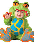 Lil' Tree Frog  Baby Toddler Infant Froggy Jumpsuit Costume S-L (6 months-2T)