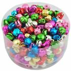 Wholesale Colorful Iron Loose Beads Christmas Jingle Bells Pendants,8x6mm