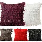Fallen Leaves Fluttering Throw Pillow Waist Case Bed Cushion Cover Pillowcase