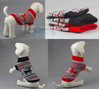 Pet Dog Warm Sweater Pants Jumper Clothes Puppy Knitwear Costume Coat Apparel