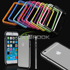 "For iPhone 6 + Plus 5.5"" Inch Bumper Frame Case Soft TPU Rubber Ultra Thin Cover"