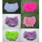 Cute Lovely Infant  Girl Various Ruffles Bloomer Pantie Brief For Pettiskirt