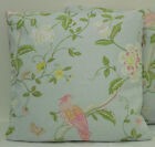 "1 CUSHION COVER-made laura ashley SUMMER PALACE duckegg 12""14""16""18""20"" 22"" 24"