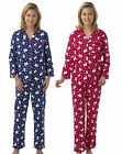 Womens Polar Bear Wincey Pyjamas Ladies Winter Pjs Size 10 12 14 16 Nightwear