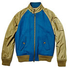 BARACUTA X GRIFFIN AW14 WOOL BOMBER G9 HARRINGTON BLUE GREEN