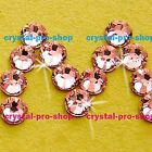 GENUINE Swarovski Rose Peach (262) Crystal (No hotfix ) Flatback  Rhinestone