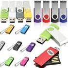 32/64 GB Metal Rotating USB2.0 Flash Memory Drive Stick Pen Storage Thumb U Disk